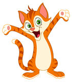 Gelukkige kat vector illustratie