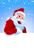 Gelukkige Kerstman Royalty-vrije Stock Afbeelding