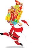 Gelukkige Kerstman Royalty-vrije Stock Foto's