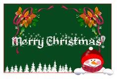 Gelukkige Kerstmis! Royalty-vrije Stock Foto