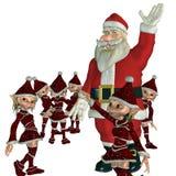 Gelukkige Kerstmis Royalty-vrije Stock Foto's