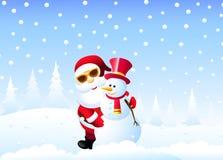 Gelukkige Kerstmis Stock Illustratie