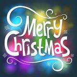Gelukkige Kerstmis Stock Fotografie