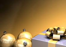 Gelukkige Kerstmisachtergrond Royalty-vrije Stock Foto
