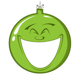 Gelukkige Kerstmisdecoratie Royalty-vrije Stock Afbeelding