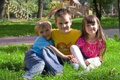 Gelukkige kinderen Royalty-vrije Stock Afbeelding