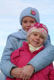 Gelukkige kinderen stock foto's