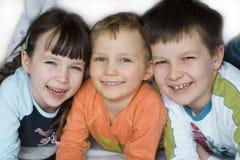 Gelukkige kinderen Royalty-vrije Stock Afbeeldingen
