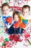 Gelukkige kinderen royalty-vrije stock foto's