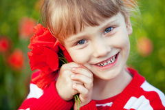 Gelukkige kinderjaren Stock Fotografie