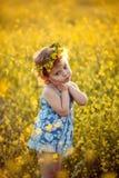 Gelukkige kinderjaren Stock Foto
