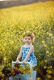 Gelukkige kinderjaren Stock Afbeeldingen