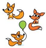 Gelukkige kleine vossen vector illustratie