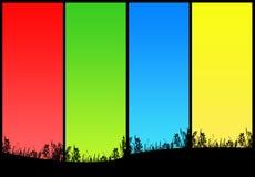 Gelukkige kleuren Stock Afbeelding