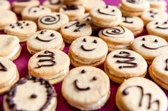 Gelukkige koekjes Stock Foto
