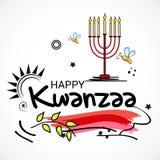 Gelukkige Kwanzaa royalty-vrije illustratie