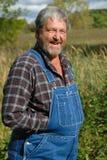 Gelukkige landbouwer Royalty-vrije Stock Afbeeldingen