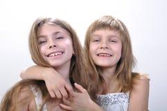 Gelukkige meisjes Stock Fotografie