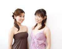 Gelukkige meisjes Royalty-vrije Stock Foto's