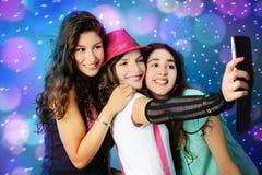 Gelukkige meisjes Royalty-vrije Stock Fotografie