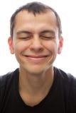 Gelukkige mens Stock Foto
