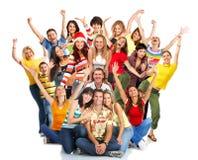 Gelukkige mensen Stock Fotografie