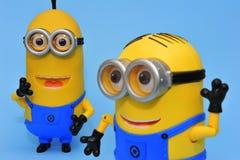 Gelukkige Minions royalty-vrije stock afbeeldingen