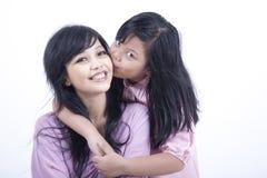 Gelukkige moeder en dochter Royalty-vrije Stock Fotografie