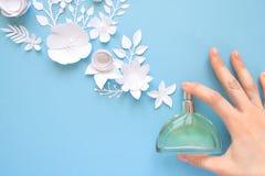 Gelukkige Moederdag! kaartconcept Bloemen, geur, parfum royalty-vrije stock fotografie