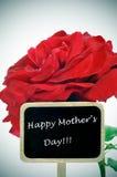 Gelukkige moedersdag Stock Fotografie