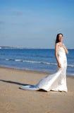 Gelukkige mooie bruid Royalty-vrije Stock Foto's