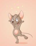 Gelukkige muis Royalty-vrije Stock Afbeeldingen
