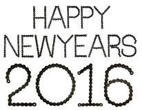 Gelukkige newyears 2016 Royalty-vrije Stock Afbeeldingen