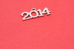 Gelukkige nieuwe jaar 2014 achtergrond Stock Afbeeldingen