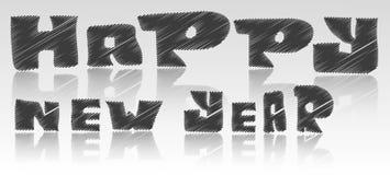 Gelukkige nieuwe jaardoopvont Royalty-vrije Stock Afbeeldingen
