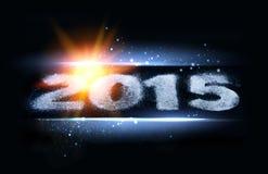 Gelukkige nieuwe jaarkaart Stock Foto