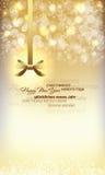 Gelukkige Nieuwjaarachtergrond Stock Foto