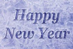 Gelukkige Nieuwjaarachtergrond Stock Afbeeldingen