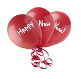 Gelukkige Nieuwjaarballons Stock Afbeeldingen