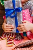 Gelukkige Nieuwjaardag Het mirakel van Kerstmis Royalty-vrije Stock Afbeelding