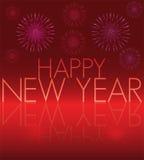 Gelukkige Nieuwjaarskaart Stock Fotografie