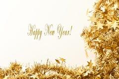 Gelukkige Nieuwjaarskaart Royalty-vrije Stock Foto