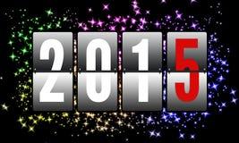 2015 gelukkige Nieuwjaren Royalty-vrije Stock Foto