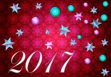 2017 gelukkige Nieuwjaren Royalty-vrije Stock Foto's
