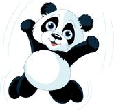 Gelukkige Panda Stock Afbeelding