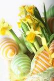 Gelukkige Pasen. Stock Foto