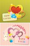 Gelukkige Pasen achtergrond Stock Foto's