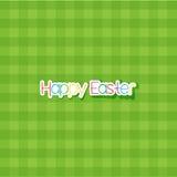 Gelukkige Pasen-achtergrond Stock Afbeelding