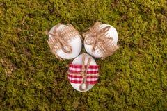 Gelukkige Pasen decoratie Royalty-vrije Stock Fotografie