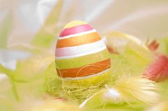 Gelukkige Pasen - eieren Royalty-vrije Stock Foto